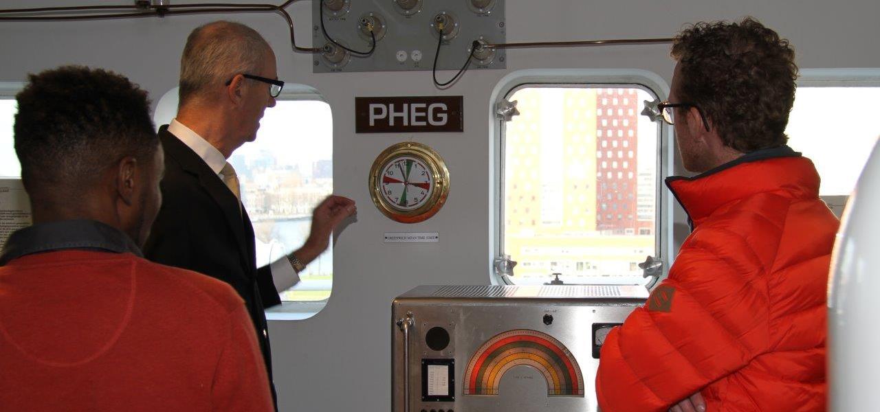 360º foto rondleiding machinekamer op het ss Rotterdam